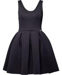 Figl Kleid mit kurzem Schnitt - schwarz