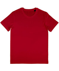 Pánské BIO tričko Wayne - Červená S