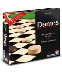 Dujardin Serie noire plateau dames - multicolore