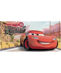 Disney Pixar Cars Serviette 70X140 CARS - Serviette CARS - multicolore