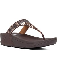 FitFlop Aztec chada - Tongs - marron