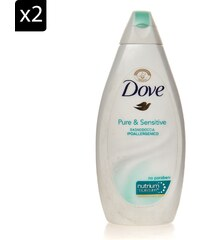 Dove Pure & Sensitive - Lot de 2 gels douche - 500 ml