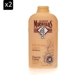 Le Petit Marseillais Lot de 2 Gels douche Sésame & Cacao - 250 ml