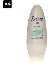 Dove Lot de 4 déodorants Pure - 50 ml