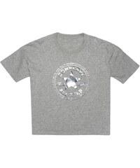 Converse T-shirt - gris clair