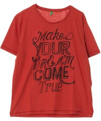 Benetton T-shirt - brique