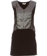 Suncoo Kleid mit geradem Schnitt - schwarz