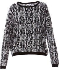 Suncoo Pullover - schwarz und weiß