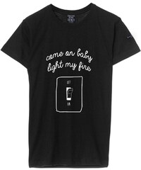 Quatre Cent Quinze Light my fire - T-shirt - noir