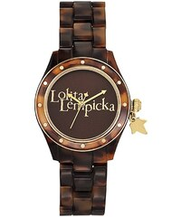 Lolita Lempicka Montre en argent et en acétate