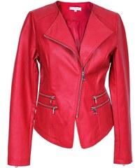 Mouvance Oural - Blouson style biker - rouge