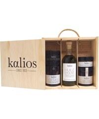 Kalios Coffret bois olives et miel