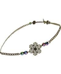 Secrets de Cailloux Headband ou collier - gris multicolore
