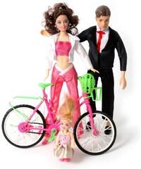 Histoire de jouets Poupées avec vélos - 4-8 ans
