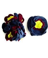 Marese Ensemble bonnet/écharpe/gants - bleu délavé