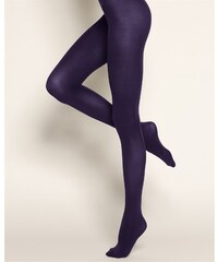 Bleuforêt Collant Opaque 80 Deniers - violet