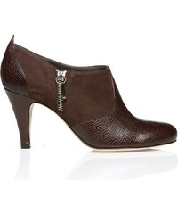 Ellips Bout rond, chocolat - Low boot - marron