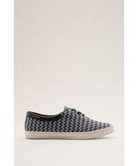 Esprit Sneakers en textile, semelle en élastomère