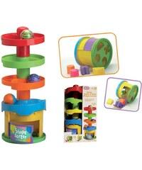 Fun Time Tobbogan des formes - multicolore