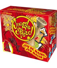 Asmodee Editions Jungle Speed en bois - multicolore
