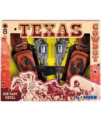 Gonher Coffret Texas - Lot de 2 pistolets - multicolore