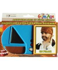 MT Créations Coffret maquillage de pirate - multicolore