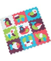 Ludi Tapis - 9 dalles mousse animaux - multicolore