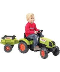 Falquet & Cie Tracteur avec remorque - multicolore