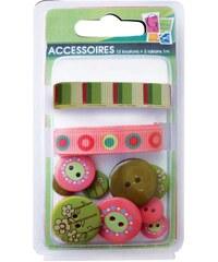 Pw International Kit accessoires coutures - multicolore