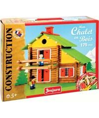 Jeujura Chalet en bois de 175 pièces - multicolore