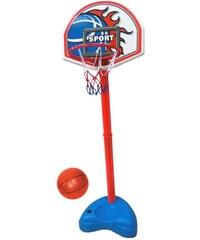CDTS Panneau de basket + ballon - multicolore