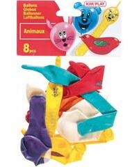 Kim'Play Paquet de 8 ballons - multicolore