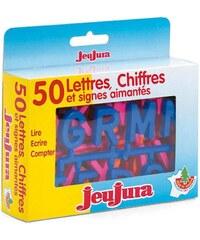 Jeujura Coffret 50 lettres et chiffres - multicolore
