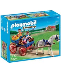 Playmobil Country - Caleche avec famille - multicolore