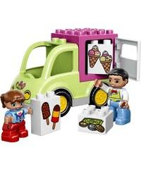 LEGO Duplo La camionnette de glaces Duplo - Jeu de construction - multicolore