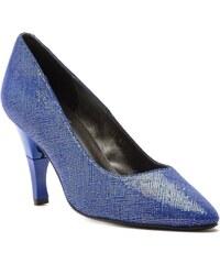 Billie Tango Moon Dreamwell - Escarpins cuir talon pliable et rétractable - bleu