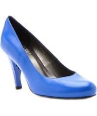 Billie Tango Caroline - Escarpins cuir nappa talon pliable et rétractable - bleu