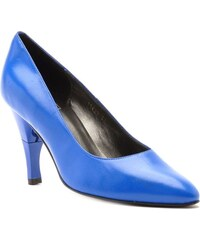 Billie Tango Moon - Escarpins cuir nappa talon pliable et rétractable - bleu