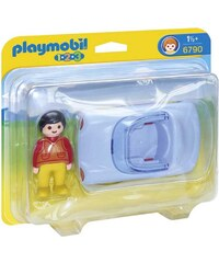 Playmobil 1.2.3 - Voiture cabriolet - multicolore