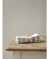 Cyrillus Lot de 4 serviettes de table - beige