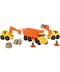 Ecoiffier Lot de 3 véhicules de chantier - multicolore