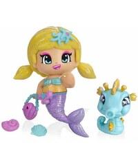 Famosa Figurines sirène et hippocampe - multicolore