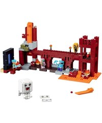 LEGO Minecraft - Forteresse de Nether - multicolore