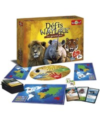 Bioviva Grand jeu Defis Nature - Jeu de société - multicolore