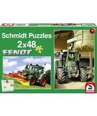 Schmidt Puzzle 2 x 48 pièces - multicolore
