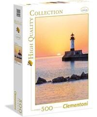 Clementoni Coucher de soleil au phare - Puzzle 500 pièces - multicolore
