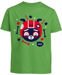 Monsieur Poulet Woof - T-shirt - vert
