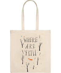 Monsieur Poulet Where are you - Sac à main - beige