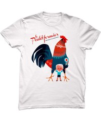 Monsieur Poulet Made in France - T-shirt - blanc
