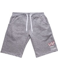 Wap Two Navy - Short - gris chine